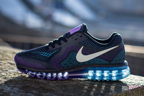 nike air max 2014 purple venom