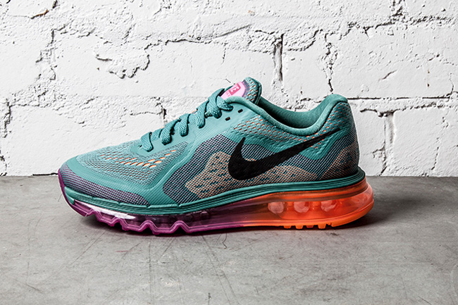 nike-air max 2014-wmns-green-orange
