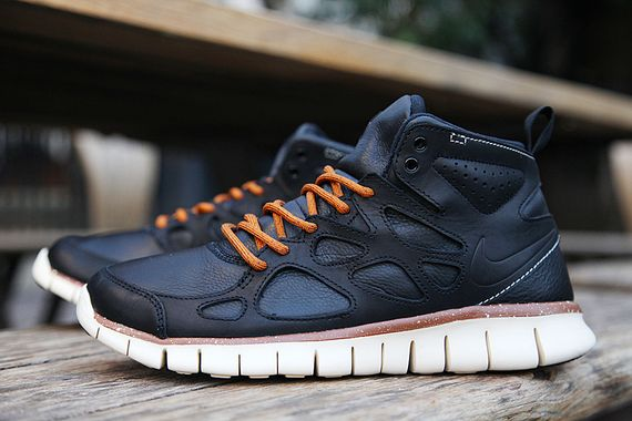 nike free run 2 sneaker boot leather qsymia