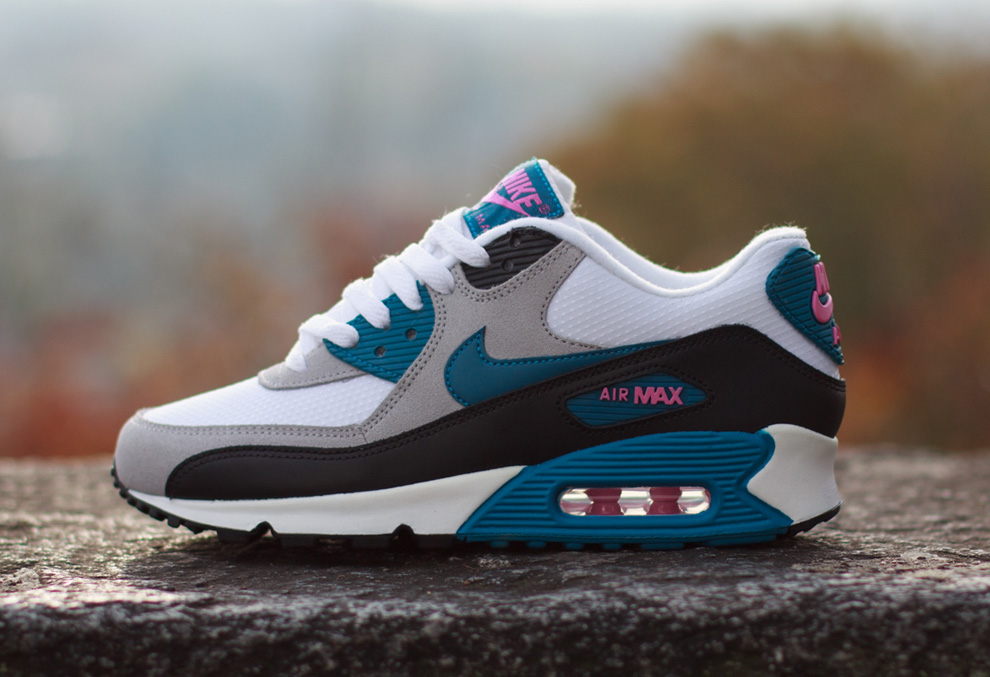 nike wmns-air max 90-green abyss