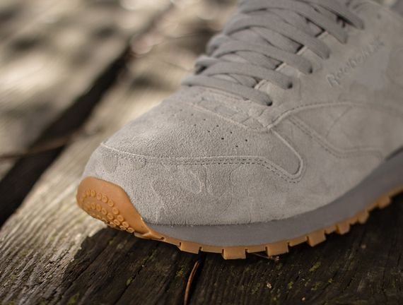 reebok classic leather suede grey