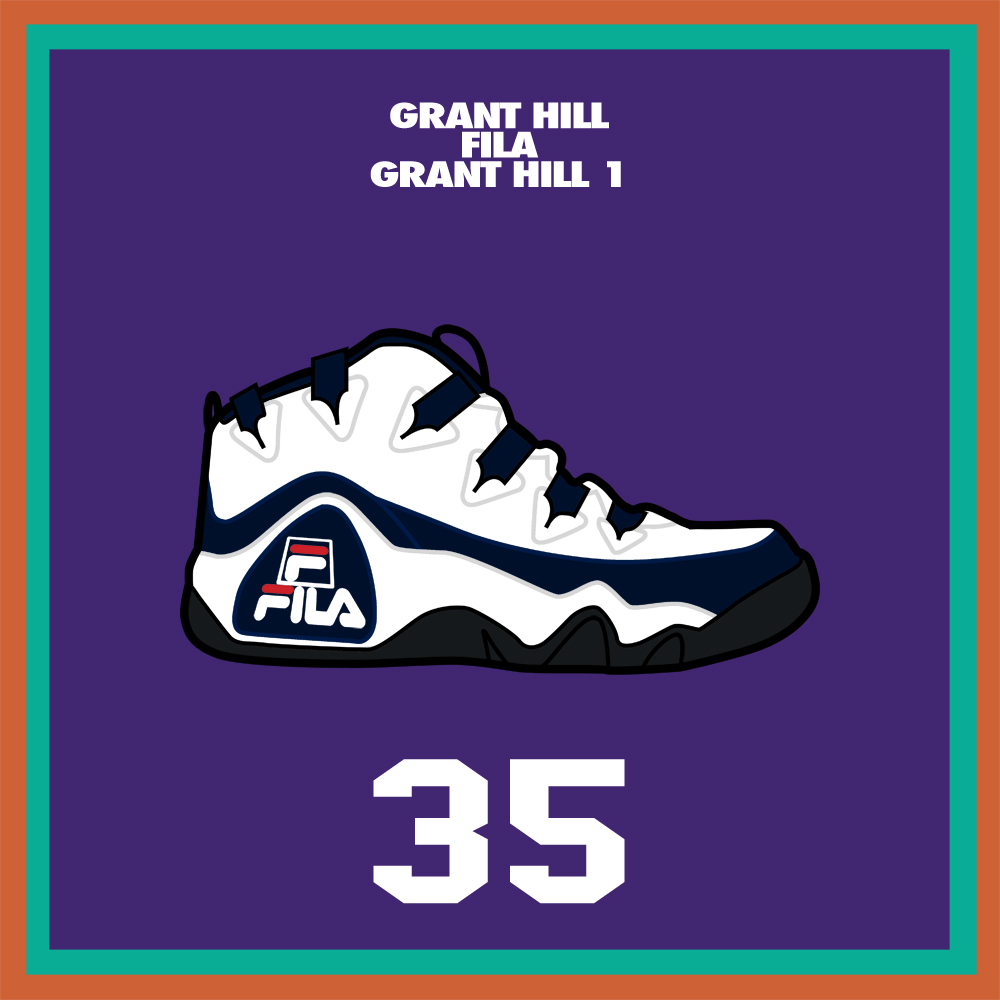 20 Years of NBA All Star Sneaker Highlights – 1995