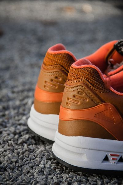 le coq sportif-brown leather