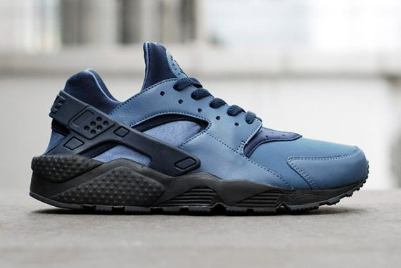 nike-air huarache-slate blue