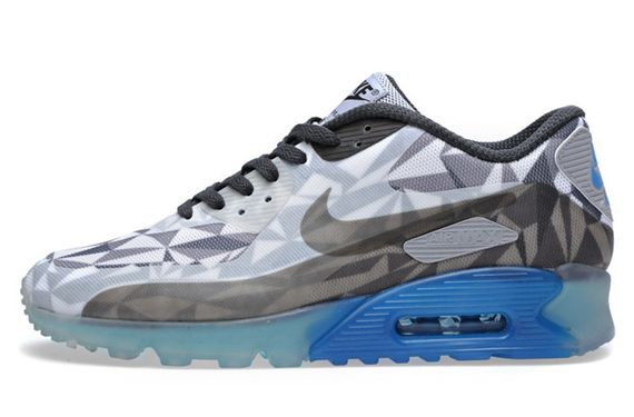 nike-air max 90-ice blue