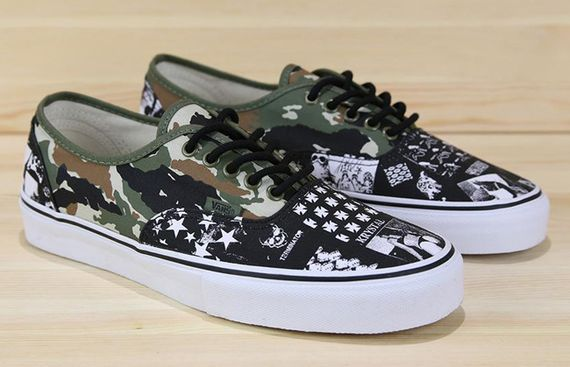 9a8615b2708056 Vans Syndicate x Weirdo Dave - Authentic