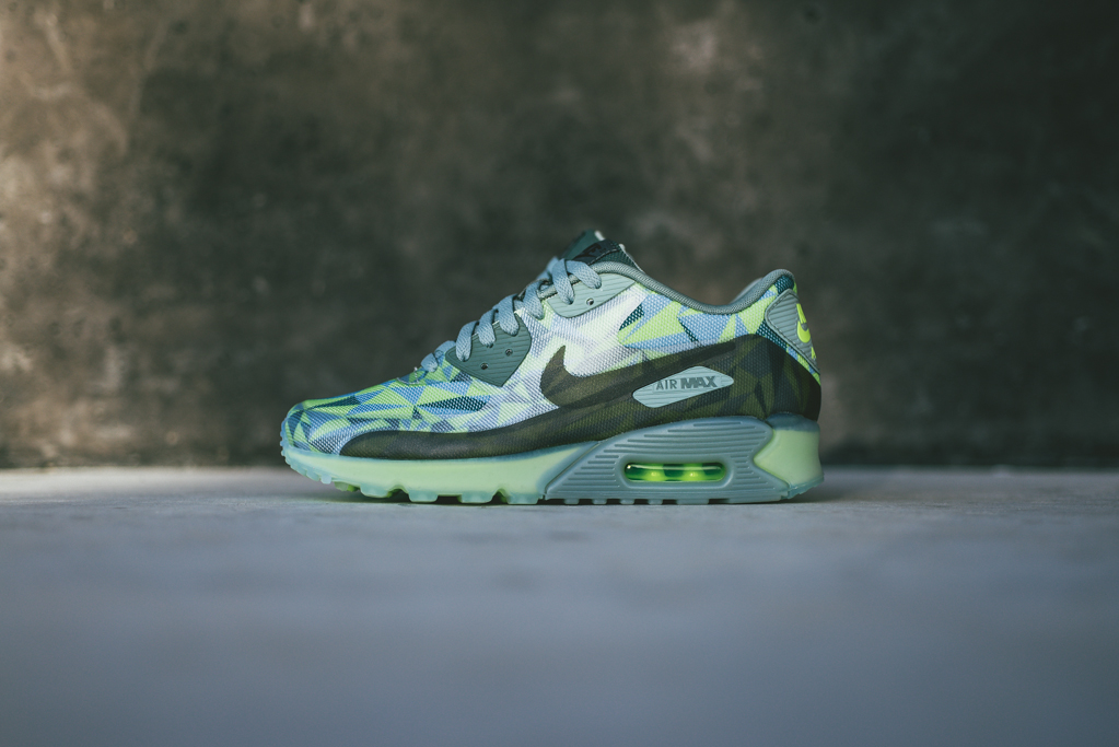 nike air max 90 ice volt mica green