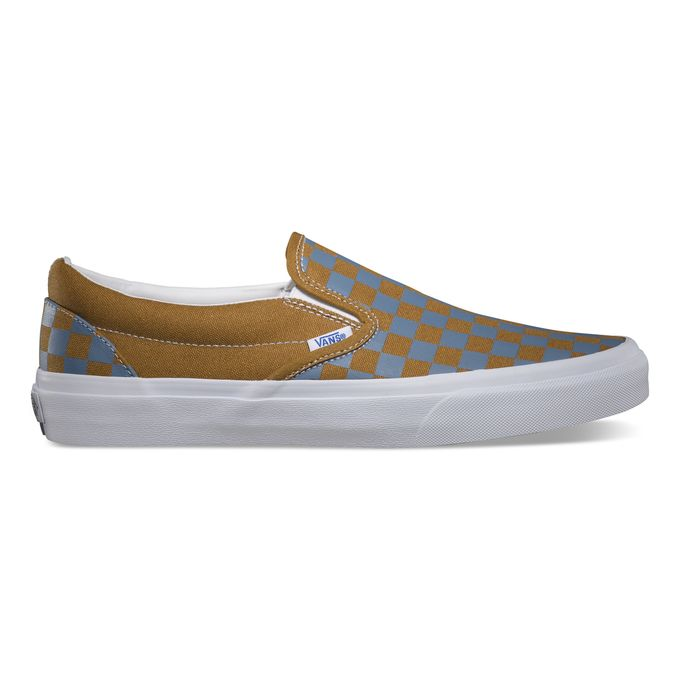 Vans Classics_Classic Slip-On_Golden Coast_Golden Brown Blue Shadow_Spring 2014