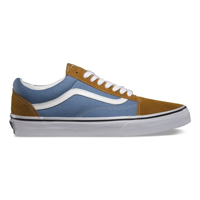 Vans Classics_Old Skool_Golden Coast_Golden Brown Blue Shadow_Spring 2014