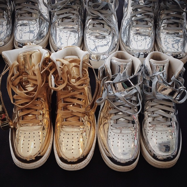 the latest e5e56 45178 c43526d291f011e381a212f39367fa5e 8. Nike Sportswear is expanding their Liquid  Metal line with the Nike Air Force 1 ...