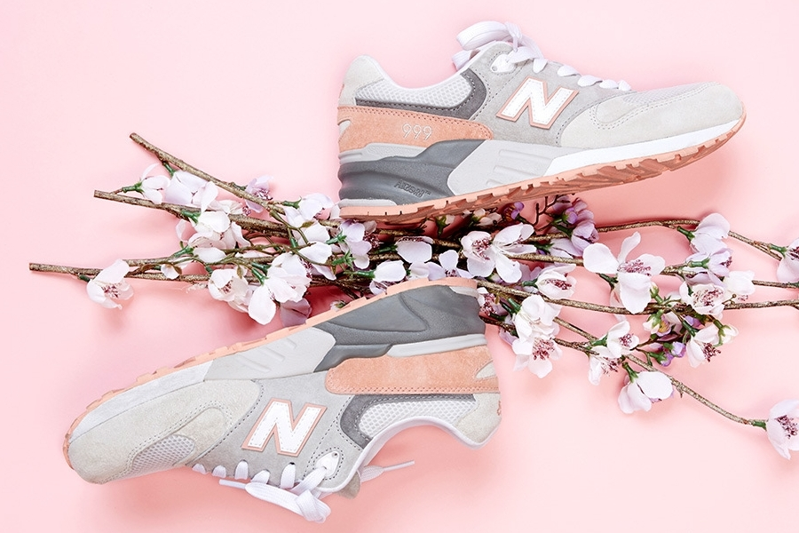 Reduced Womens New Balance 999 - 2014 02 New Balance 999 Cherry Blossom Pack