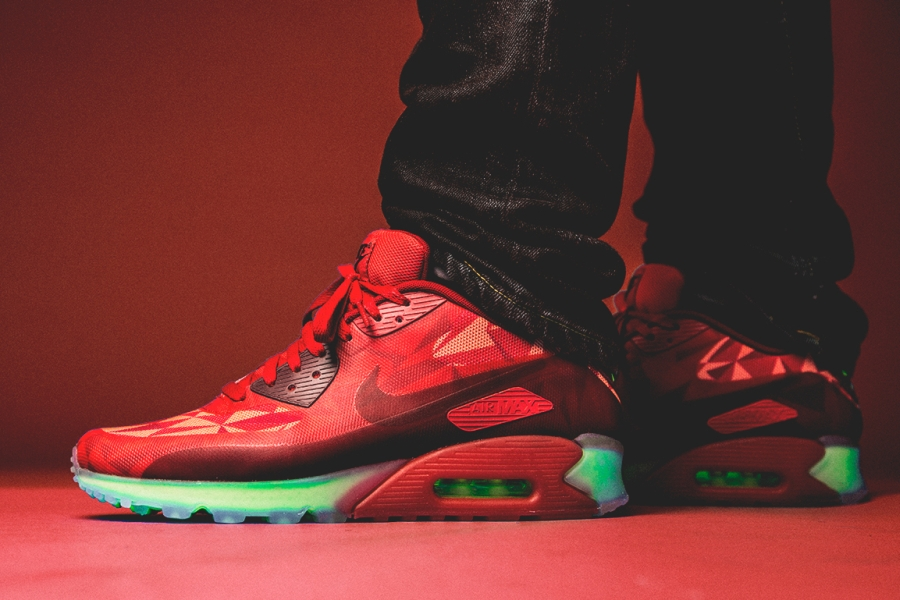 """Nike Air Max 90 Ice """"Gym Red"""""""