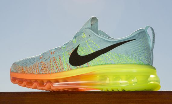 nike wmns-air max flyknit-glacier ice