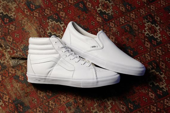 Buy all white vans on feet ca4cad323