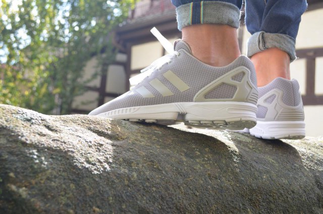 adidas Originals ZX Flux Slip On Clear Grey / Clear Onyx