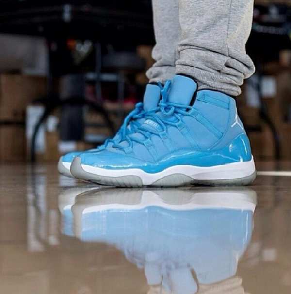 IG Photo Via Air Jordan 11 Retro    Pantone         brandencarterPantone 11 2014