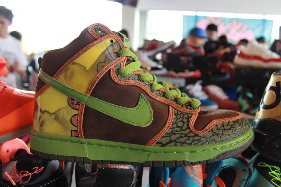 8df1cc81ef Sole Pacific x Scion Guam Sneaker Meet