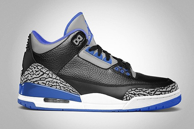 "Air Jordan 3 Retro ""Sport Blue"" – Release Date"