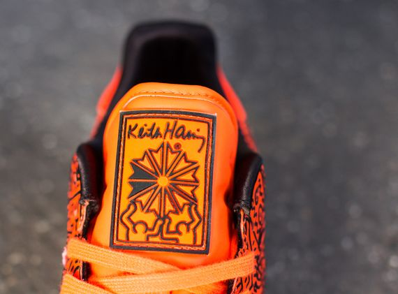 reebok-haring-cl orange