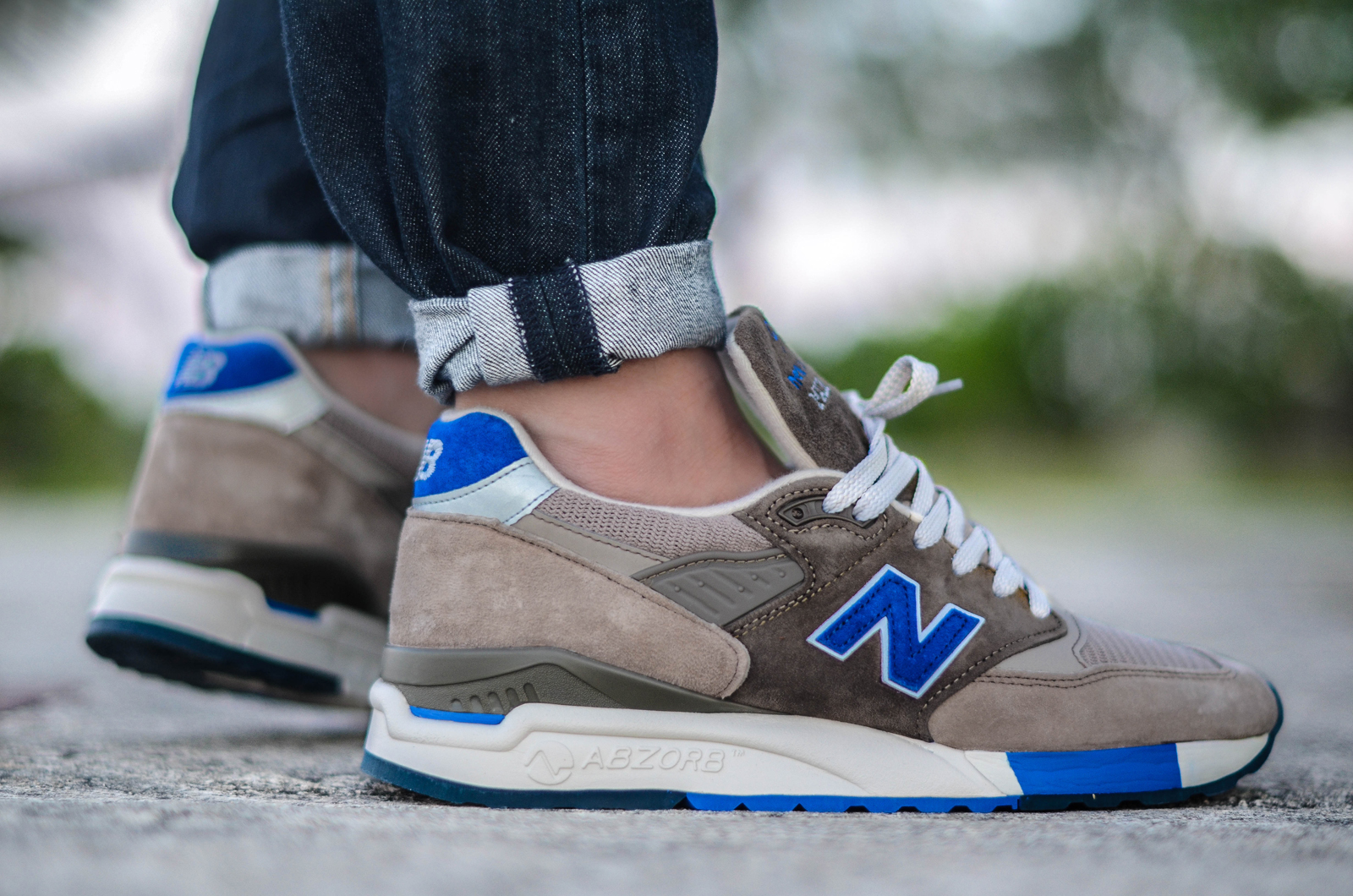 new balance pebble blue