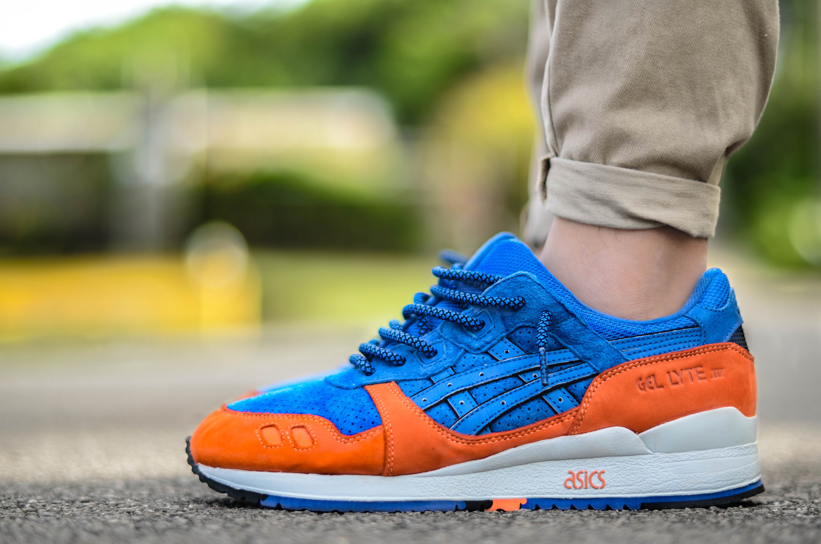 asics build up