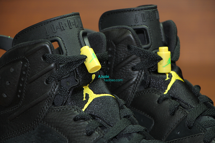 Air Jordan 6 Black And Yellow