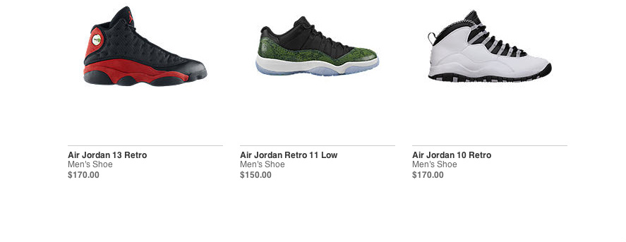 Jordan restock dates in Auckland