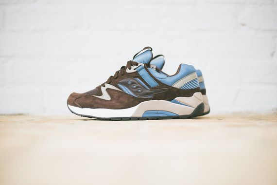 saucony-grid 9000-brown-beige-light blue