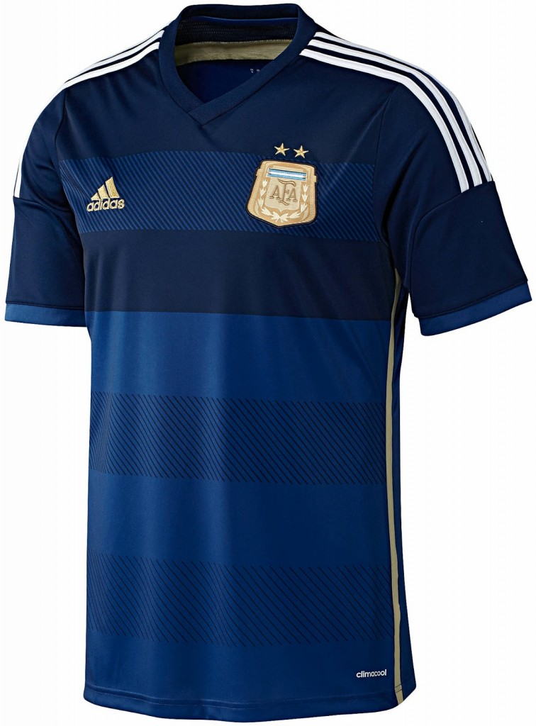 Argentina 2014 World Cup Away Kit (1)