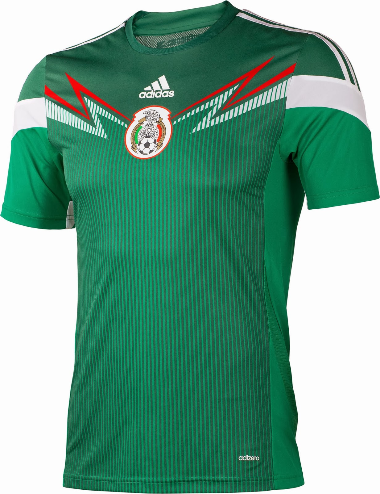 Mexico 2014 World Cup Home Kit (2)