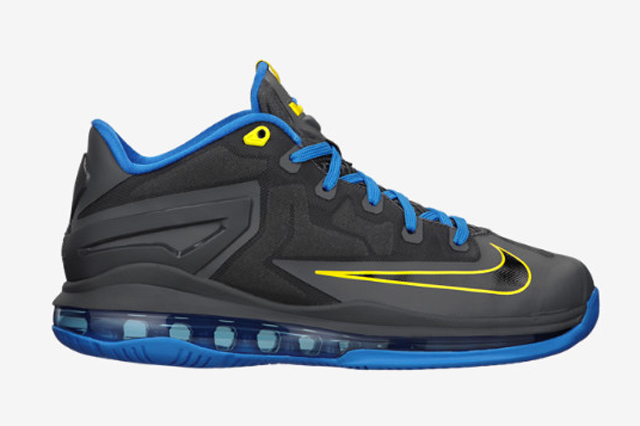 Nike-LeBron-11-Low-GS-Dark-Grey-Photo-Blue-1