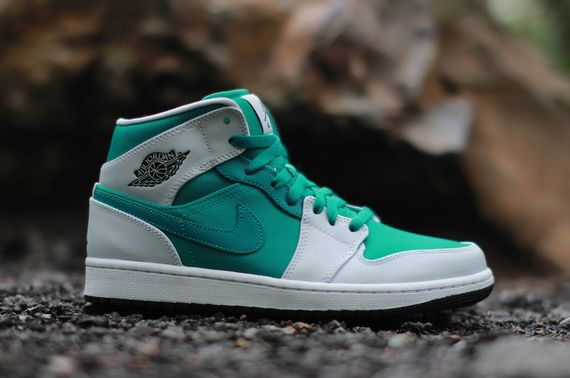 air jordan-1 mid-lush green-pp