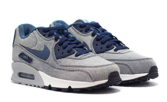 nike air max 90 denim blue