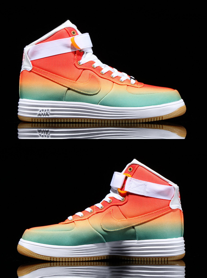 competitive price 84d34 c5391 nike lunar force 1 high canvas tropical gradient