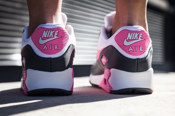 nike wmns-air max 90-pink glow_02
