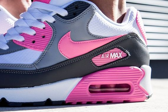 nike wmns-air max 90-pink glow_03