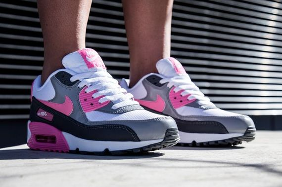 nike wmns-air max 90-pink glow_04