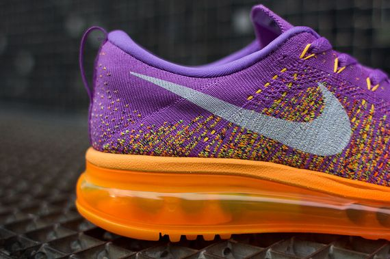 nike wmns-air max flyknit-purple-orange