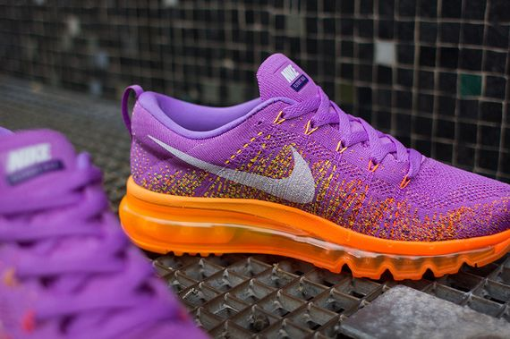 on sale c63da 2bb91 nike wmns-air max flyknit-purple-orange 05 ...