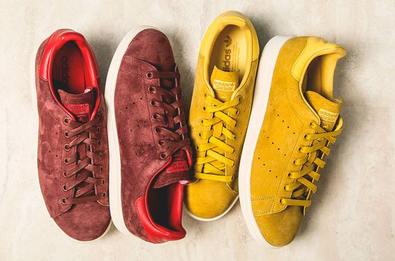 adidas-stan smith-suede pack