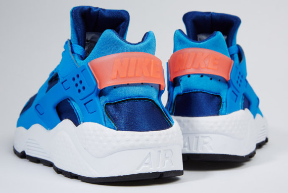 ... nike air huarache gym blue photo blue mango ...