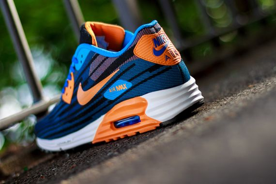 nike-air max lunar 90-royal mango