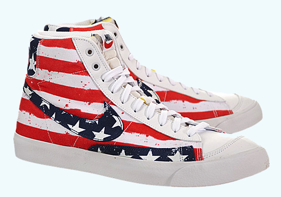 nike-blazer mid-independence day