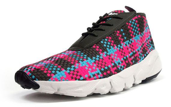 nike-footscape desert chukka-black-pink-blue
