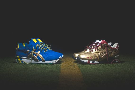 ronnie fieg-asics-kith football