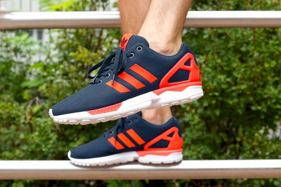 adidas-zx flux-dark blue-solar red