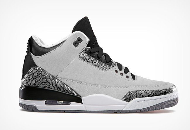 Air Jordan 3 Black Grey