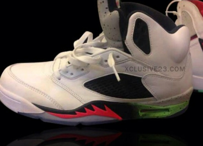 air-jordan-5-white-black-pink-neon