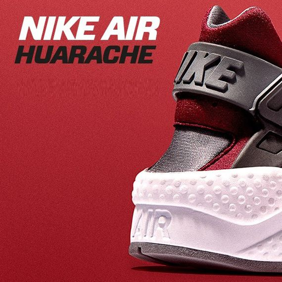 jd sports-nike-air huarache-black-burgundy_04