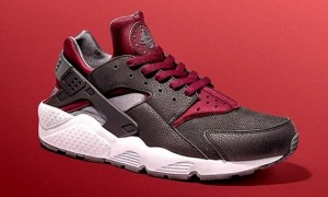 jd sports-nike-air huarache-black-burgundy_05